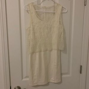 Off white color dress from American Eagle